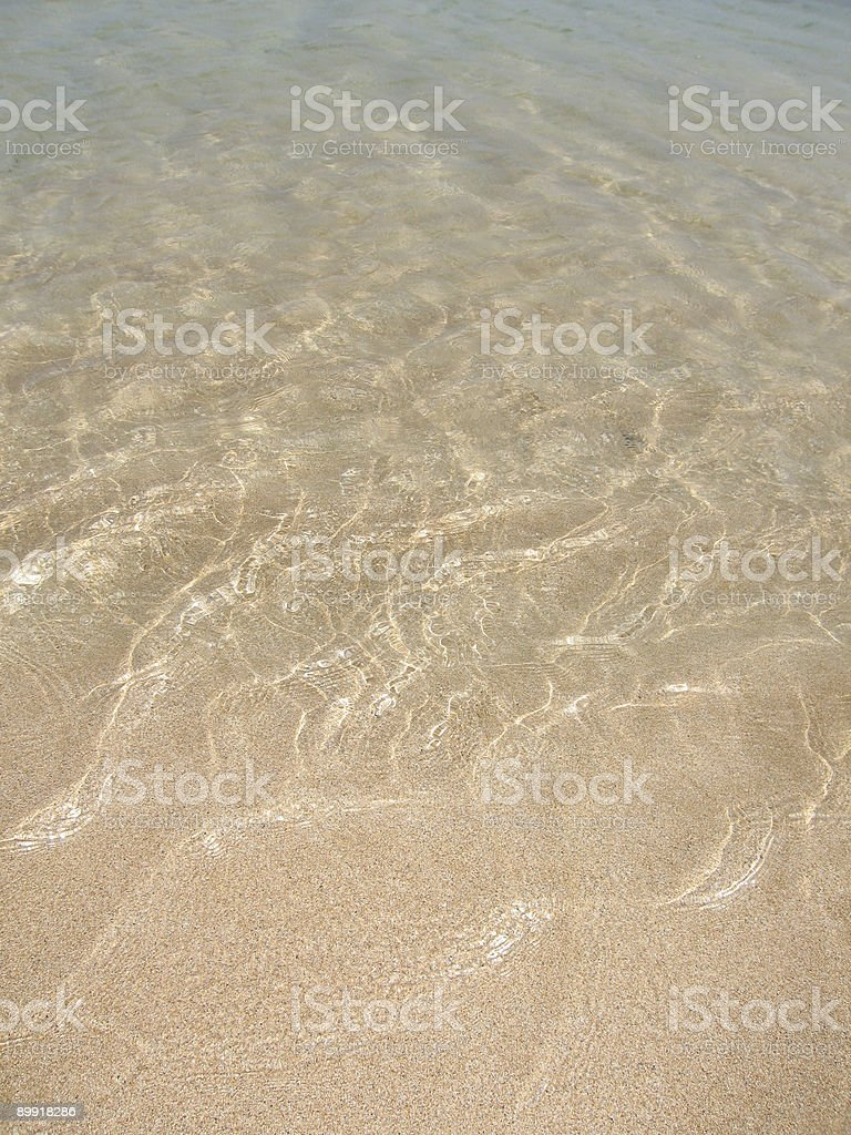 endless ocean water and sand 4 royalty-free stock photo
