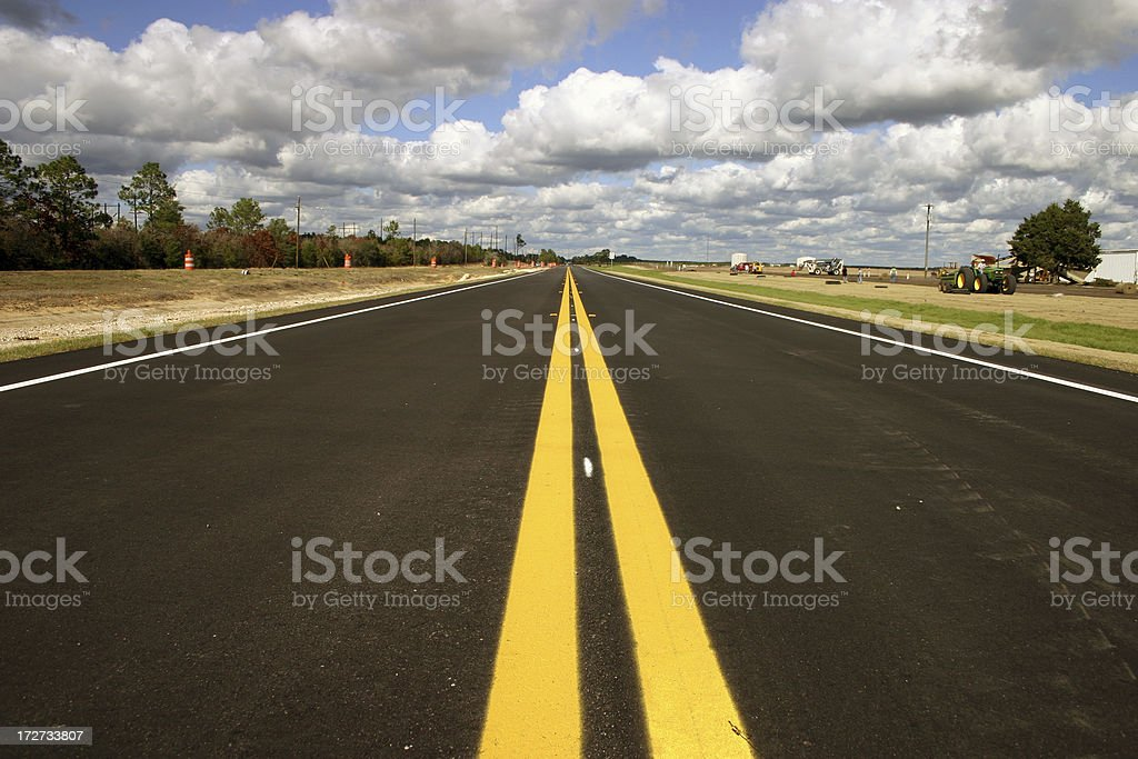 Endless road royalty-free stock photo