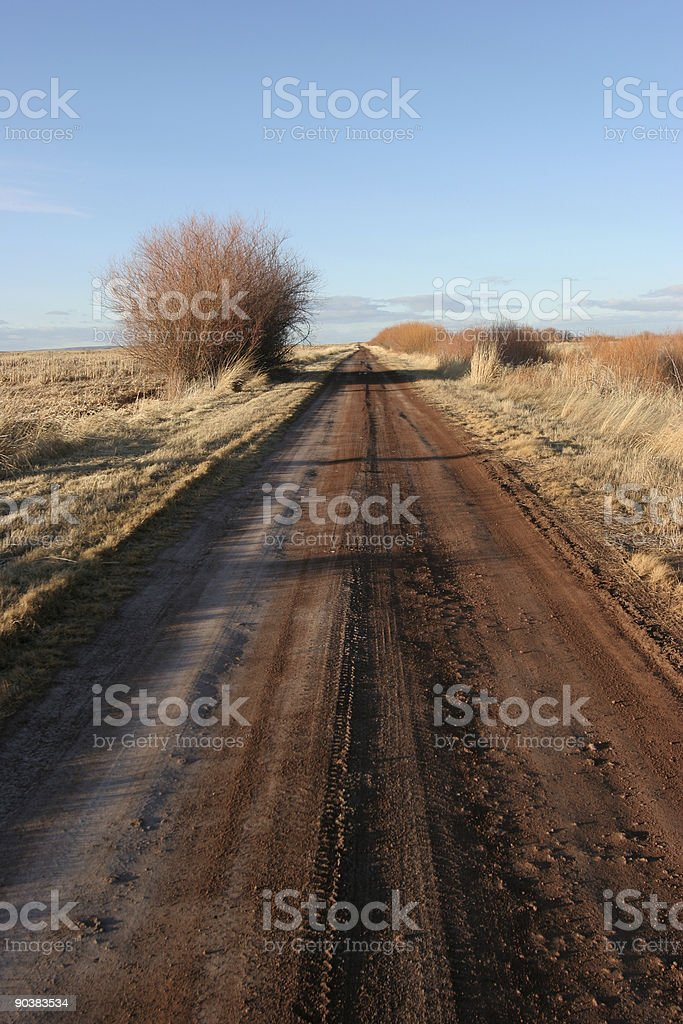 Endless Road stock photo