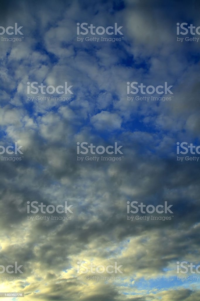 endless sky royalty-free stock photo