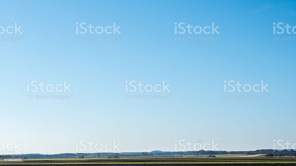 Endless sky stock photo