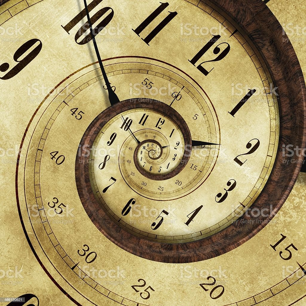 Endless Time Effect stock photo