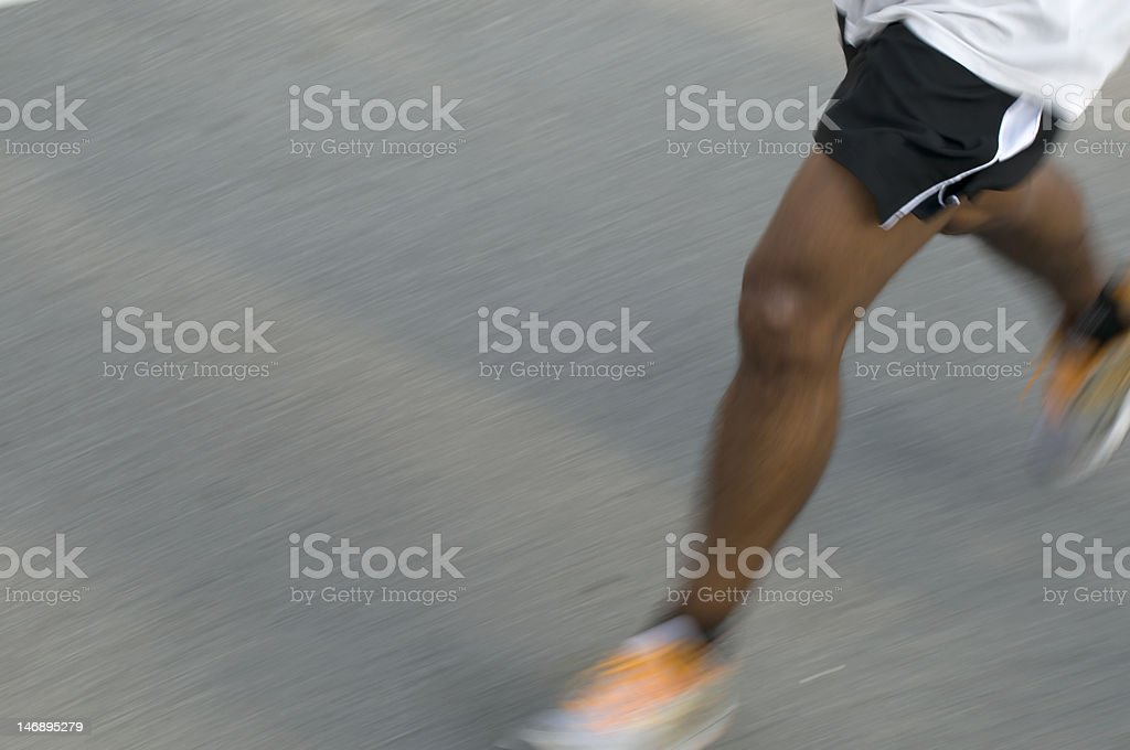 Endurance runner royalty-free stock photo