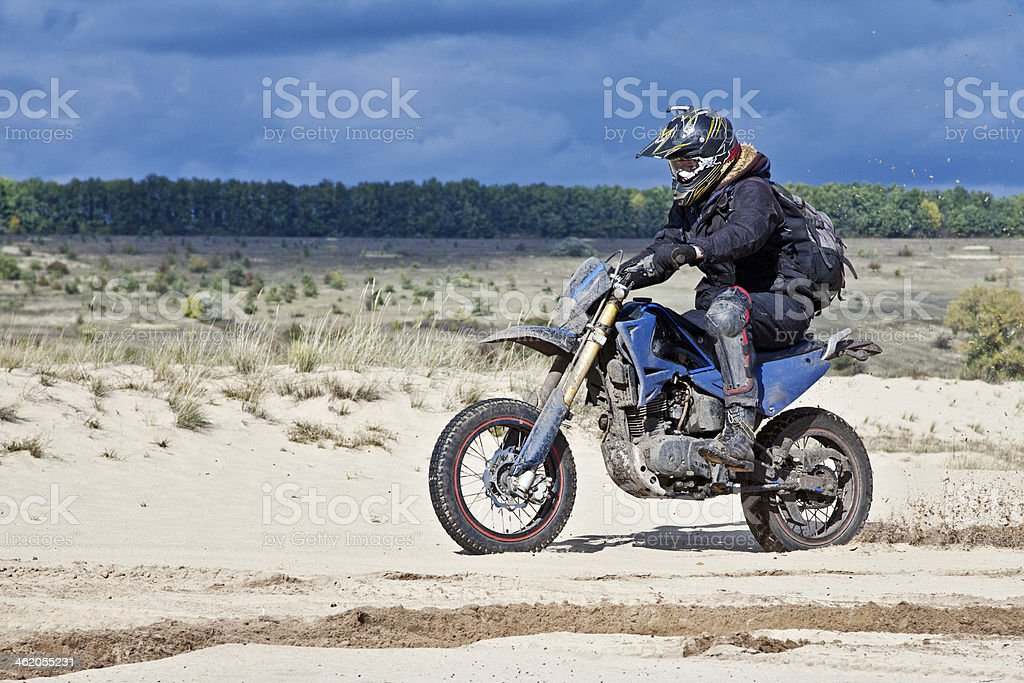 Enduro stock photo
