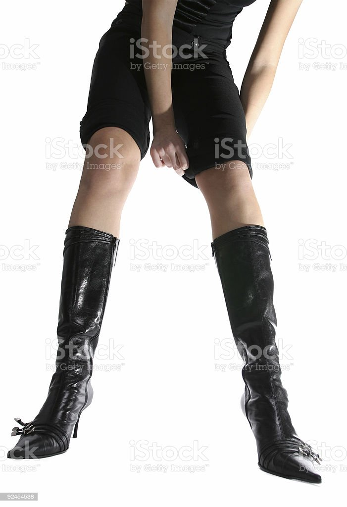 Enegant boots royalty-free stock photo