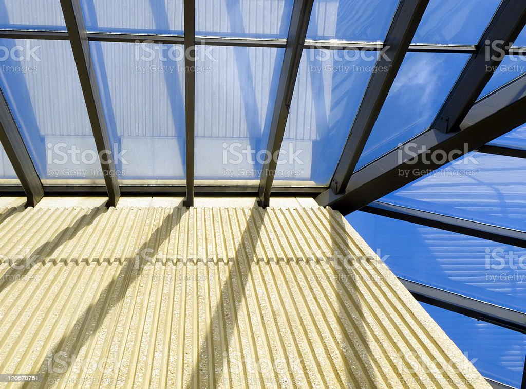 Energetic stasis in academic architecture royalty-free stock photo