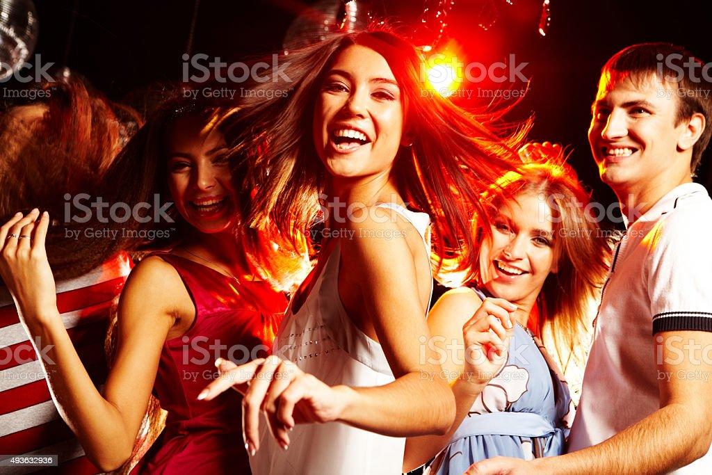 Energetic teenager stock photo