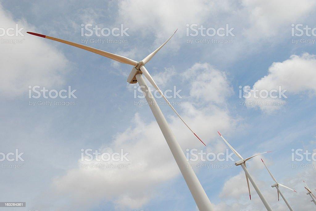 Energia Eolica stock photo
