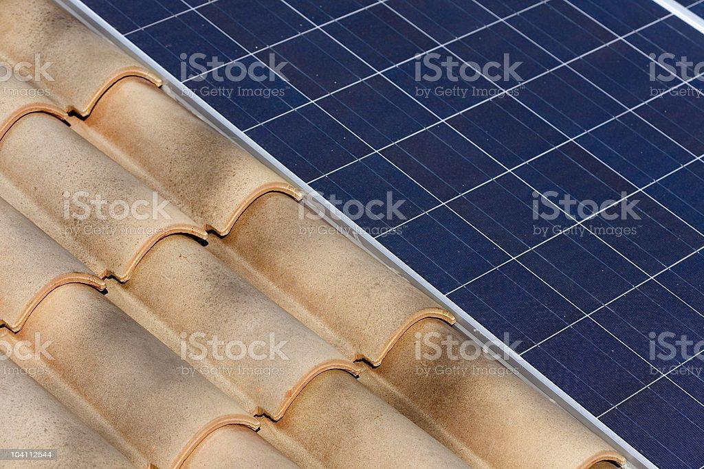 Energia fotovoltaica royalty-free stock photo