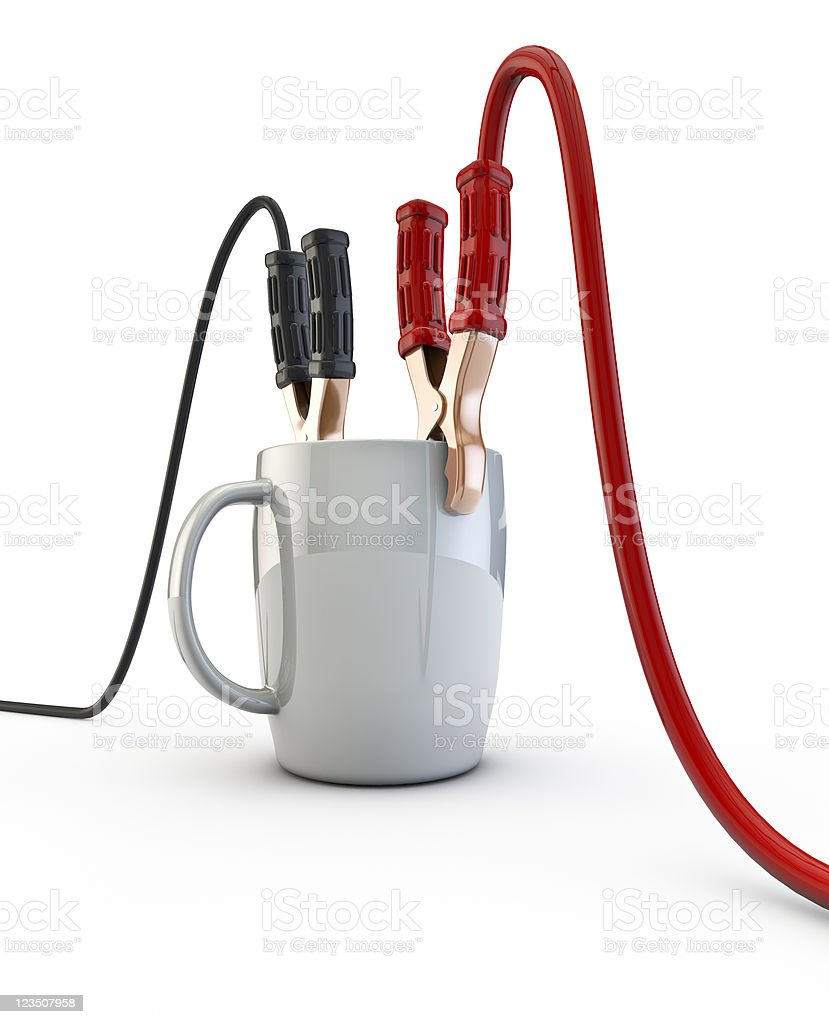 Energize your day royalty-free stock photo