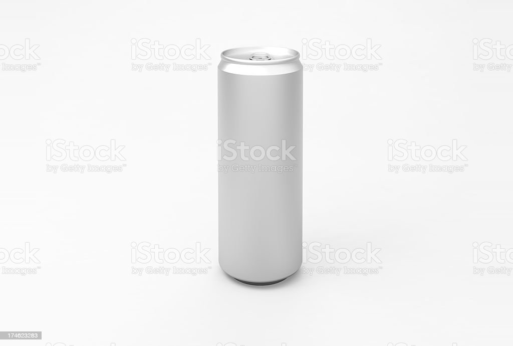 Energy Aluminum Can stock photo