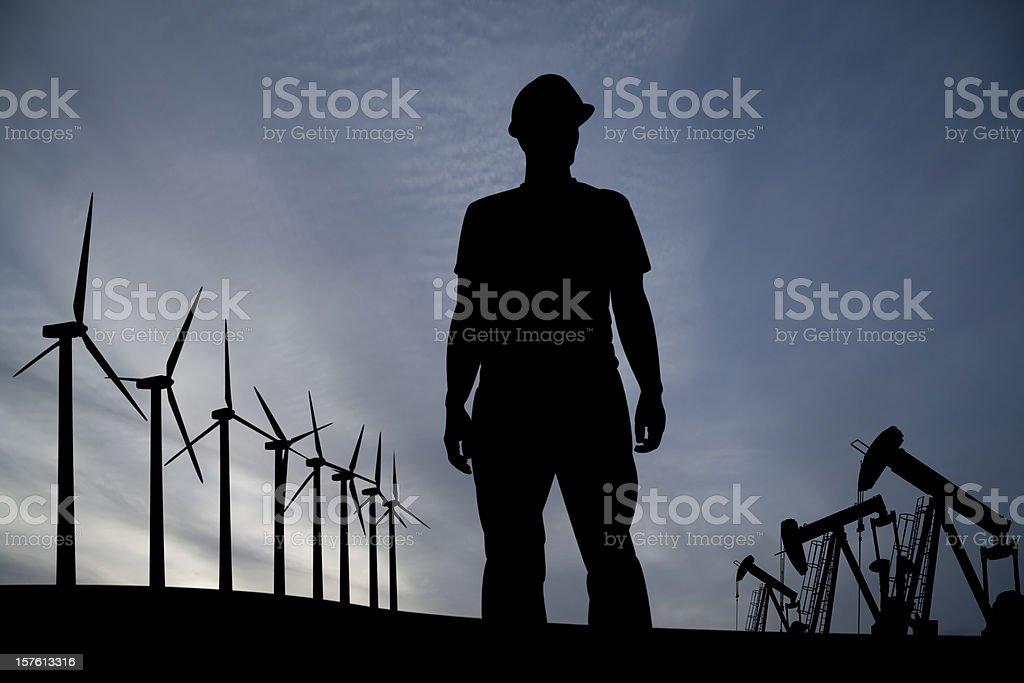 Energy Choice royalty-free stock photo