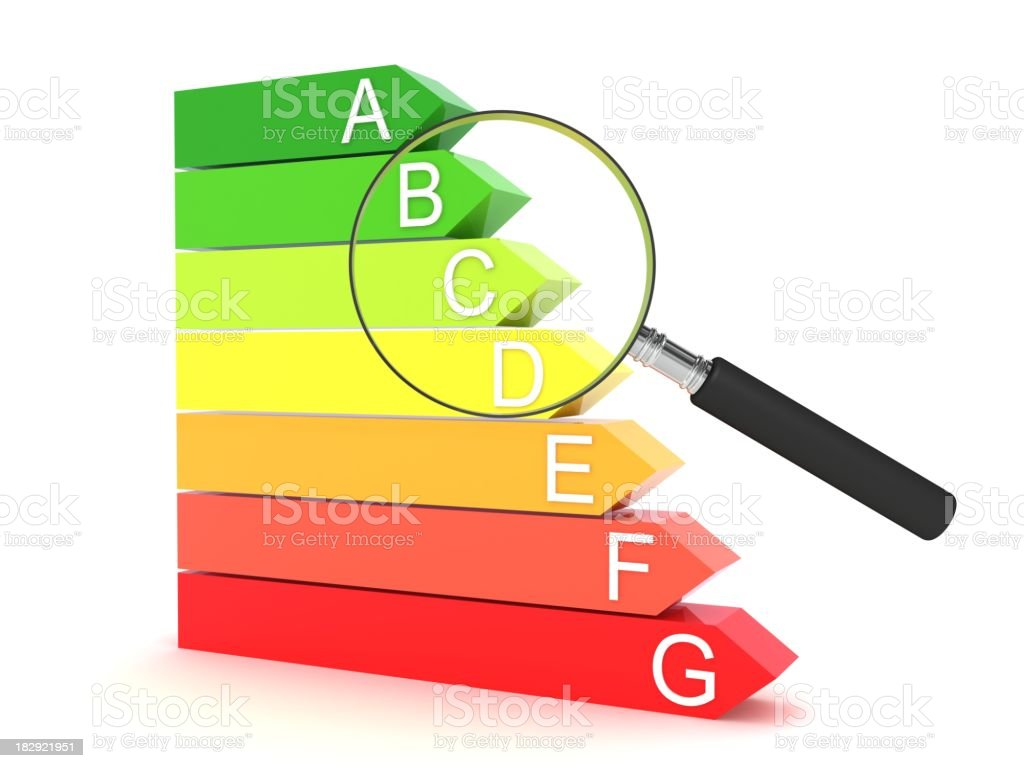 Energy Comparison royalty-free stock photo