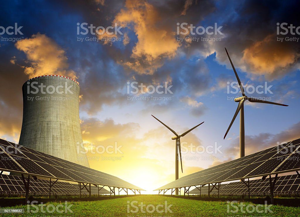 Energy concept stock photo