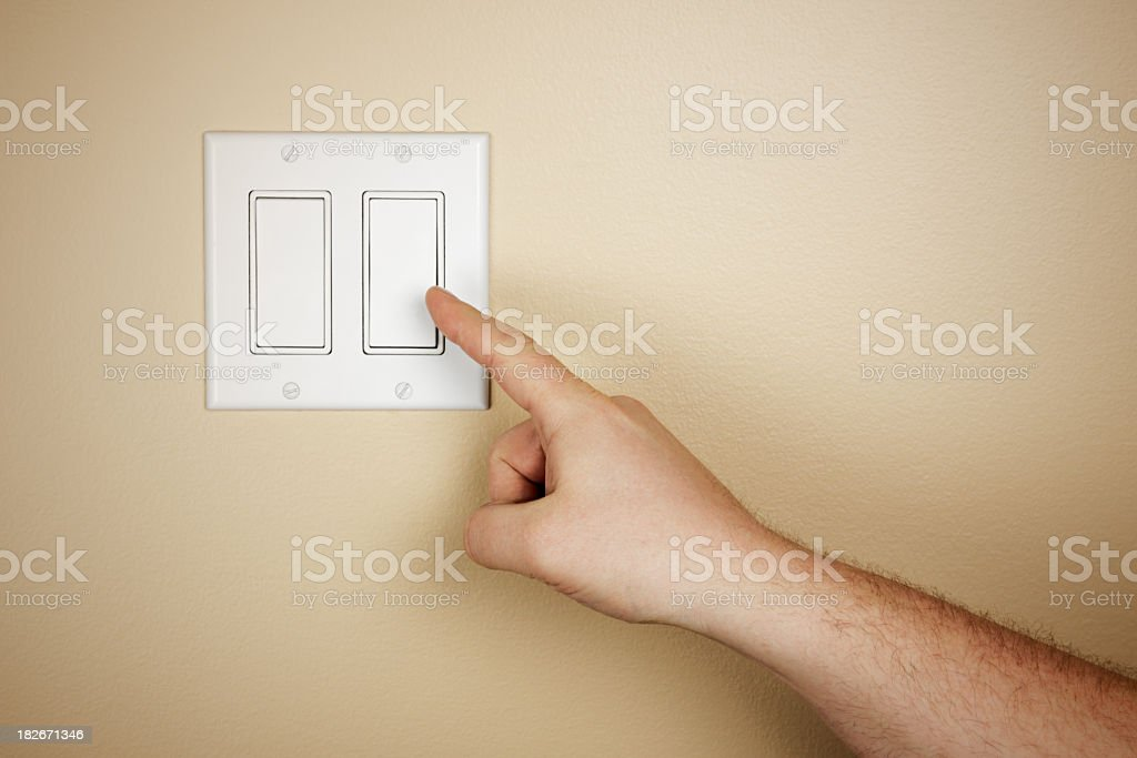 Energy Conservation royalty-free stock photo