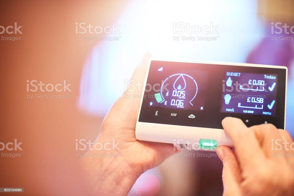 Energy consumption stock photo