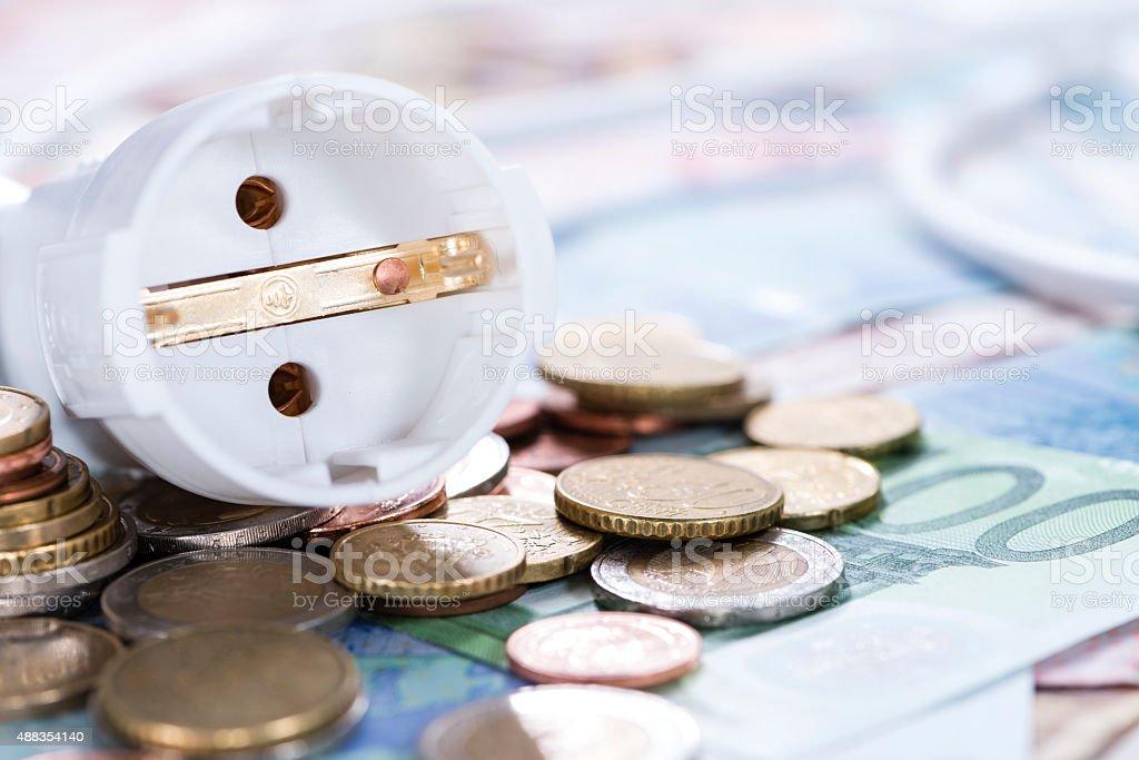 Energy Costs Concept stock photo