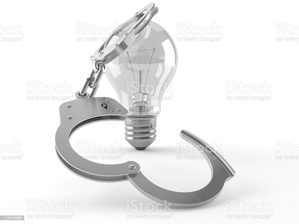 Energy crime stock photo