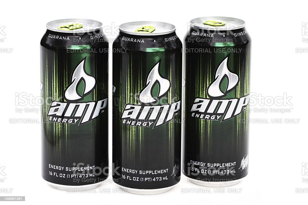 AMP energy dirnk royalty-free stock photo