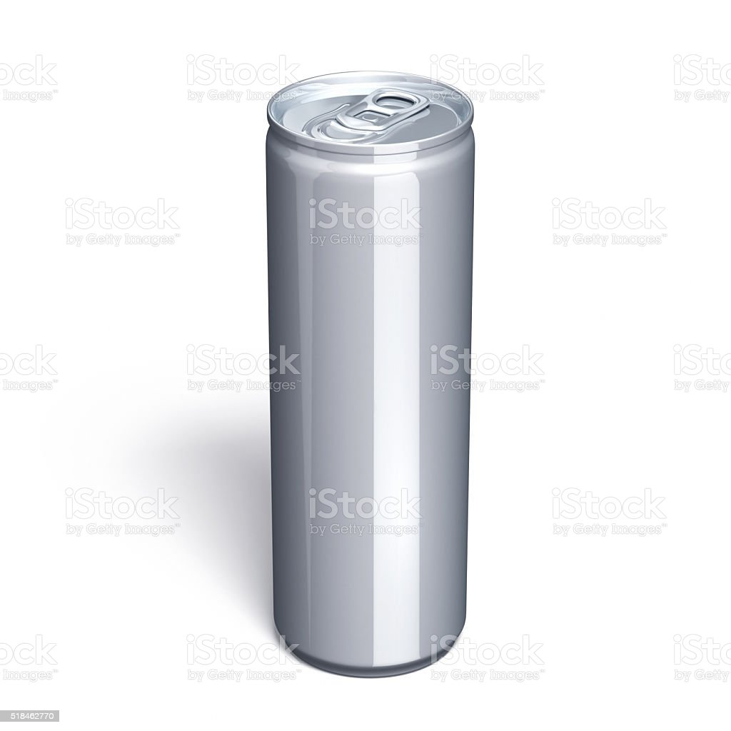 Energy Drink Can Clipping path stock photo