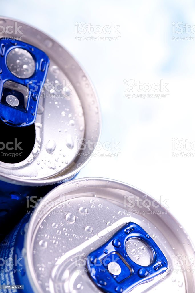 Energy drink can royalty-free stock photo