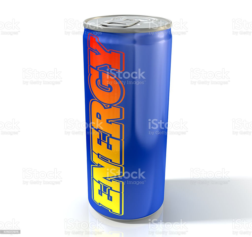 Energy Drink Can stock photo