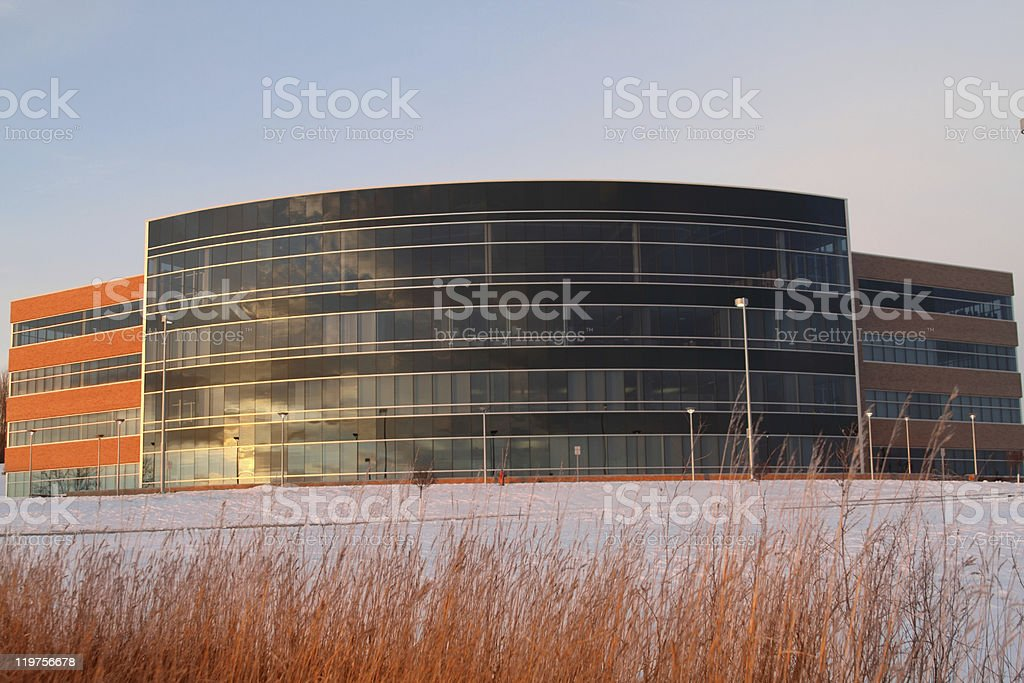 Energy Education Center stock photo