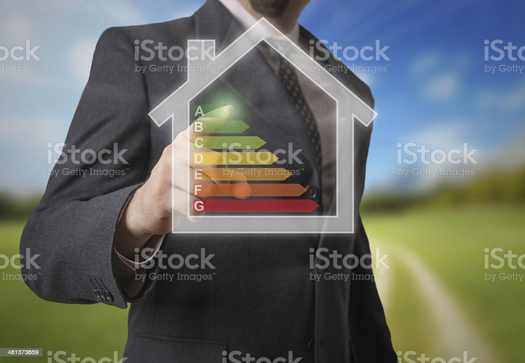 Energy efficency stock photo