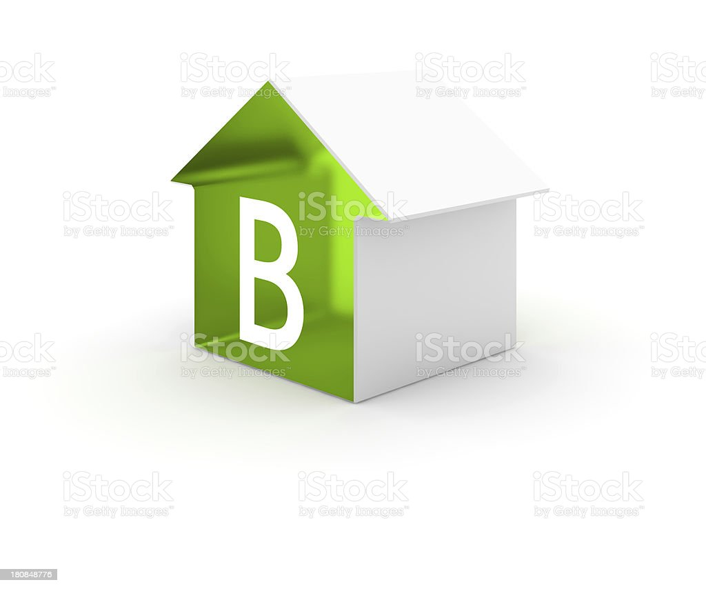 Energy efficiency class royalty-free stock photo