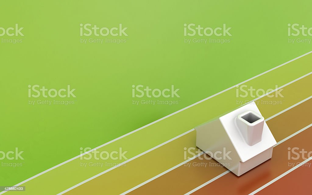 Energy Efficiency competition stock photo