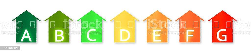 Energy Efficiency - Concept image stock photo