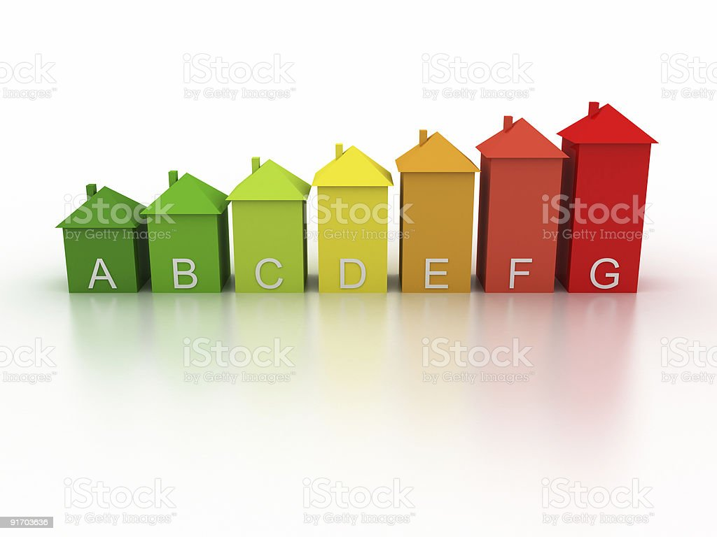 Energy Efficiency in the Home royalty-free stock photo