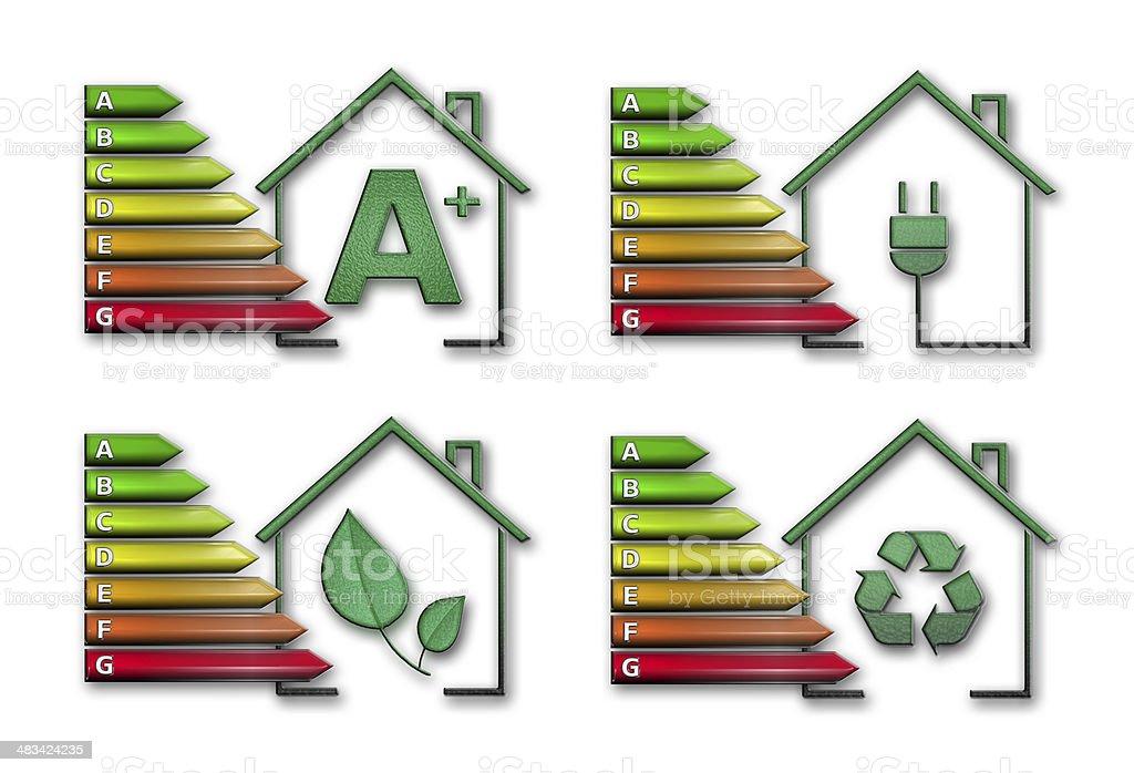 energy efficiency pack royalty-free stock photo