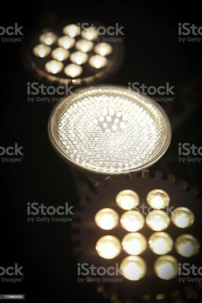 Energy Efficient LED lights royalty-free stock photo