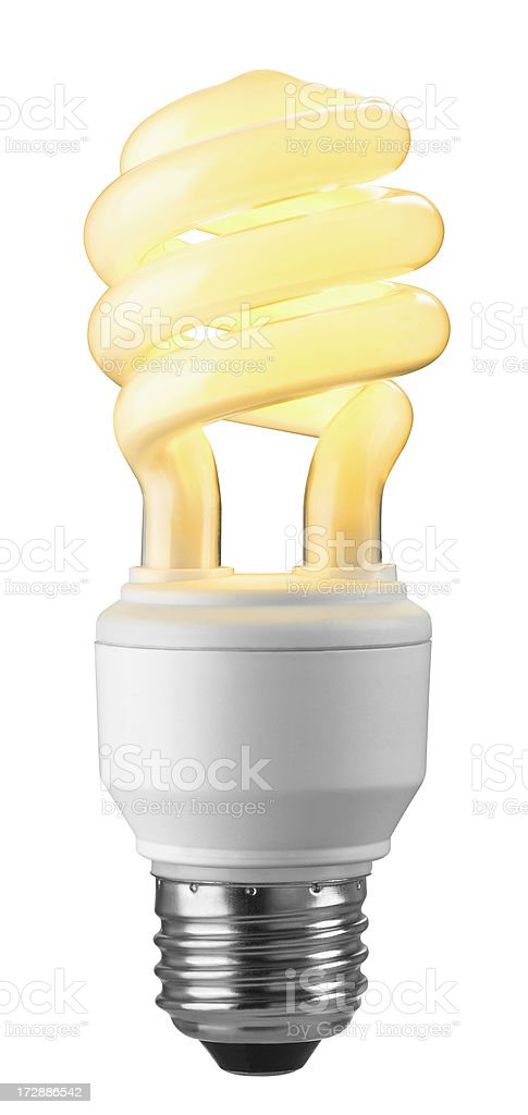 Energy Efficient Light Bulb royalty-free stock photo