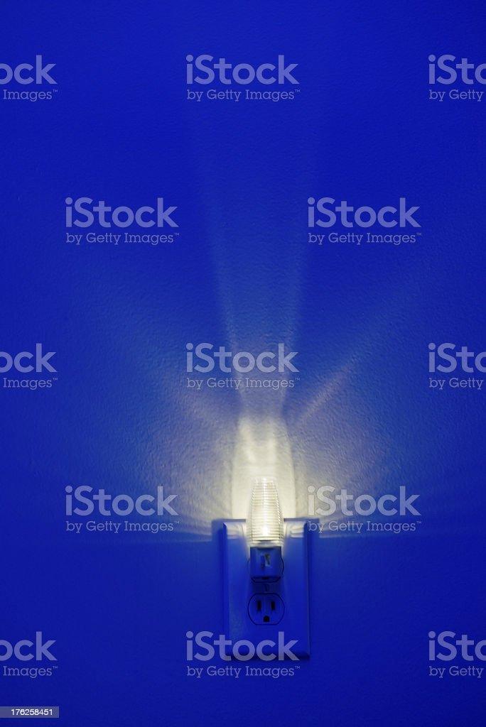 LED Energy Efficient Night Light stock photo