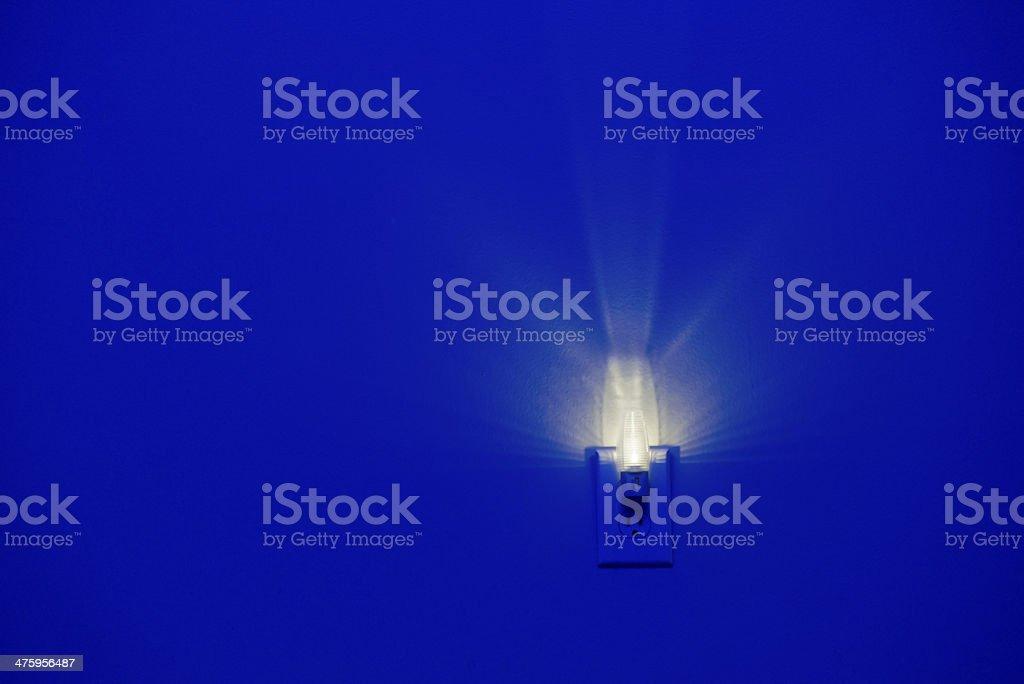 LED Energy Efficient Night Light royalty-free stock photo