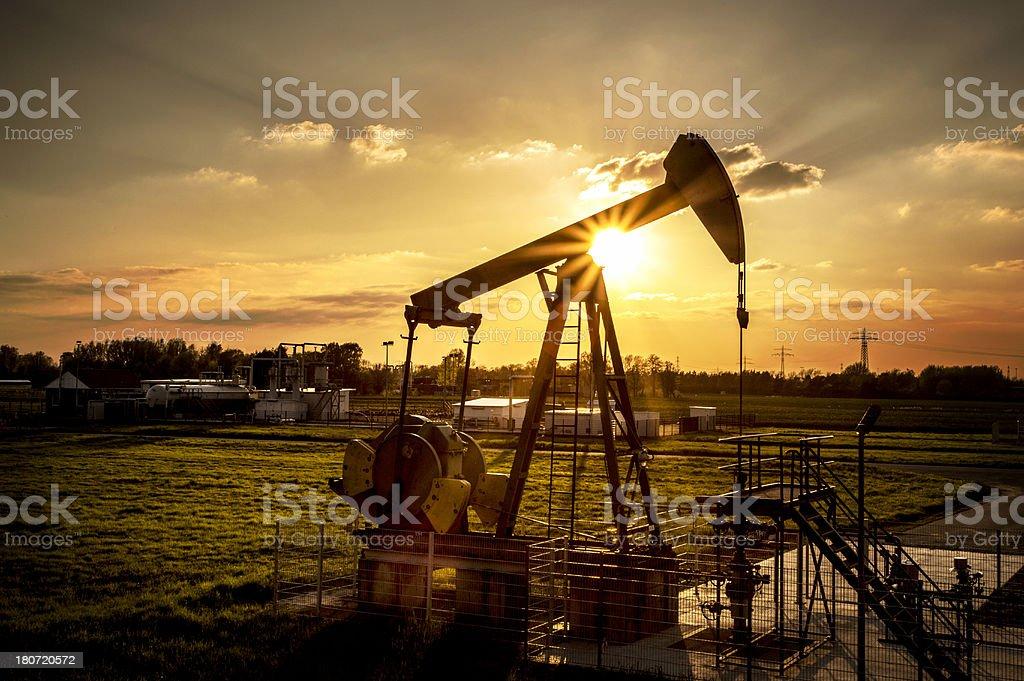energy extraction stock photo