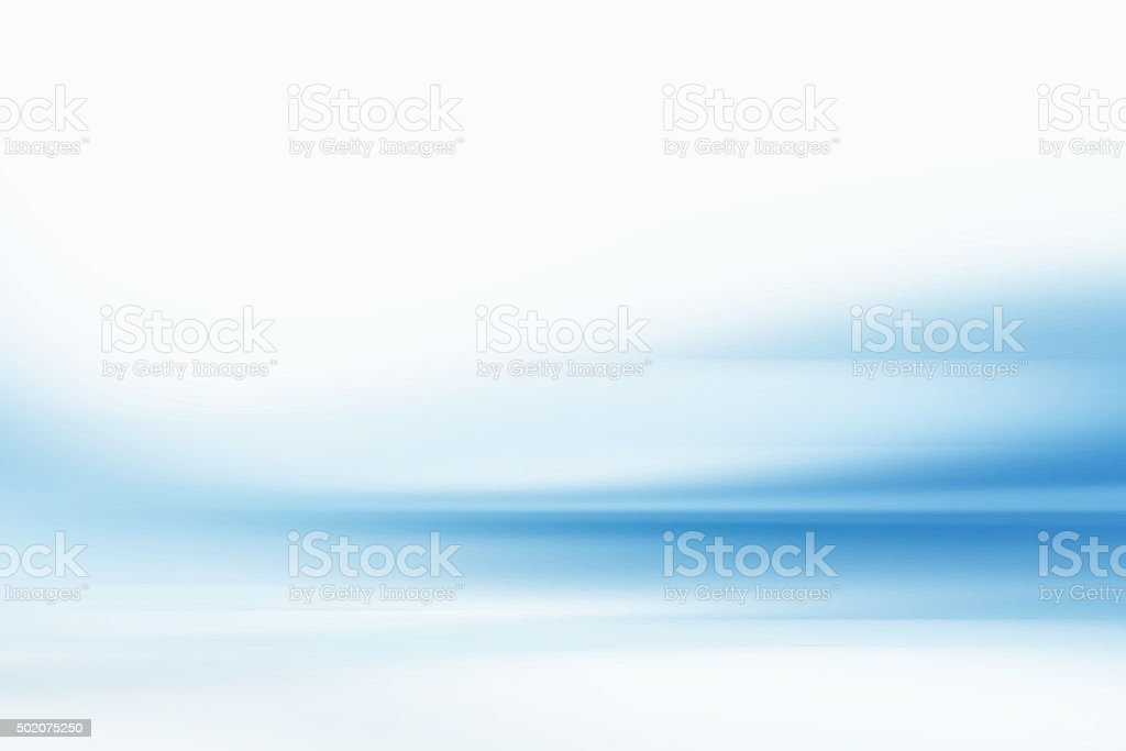 Energy Flow Abstract Blurred Motion Background Blue vector art illustration
