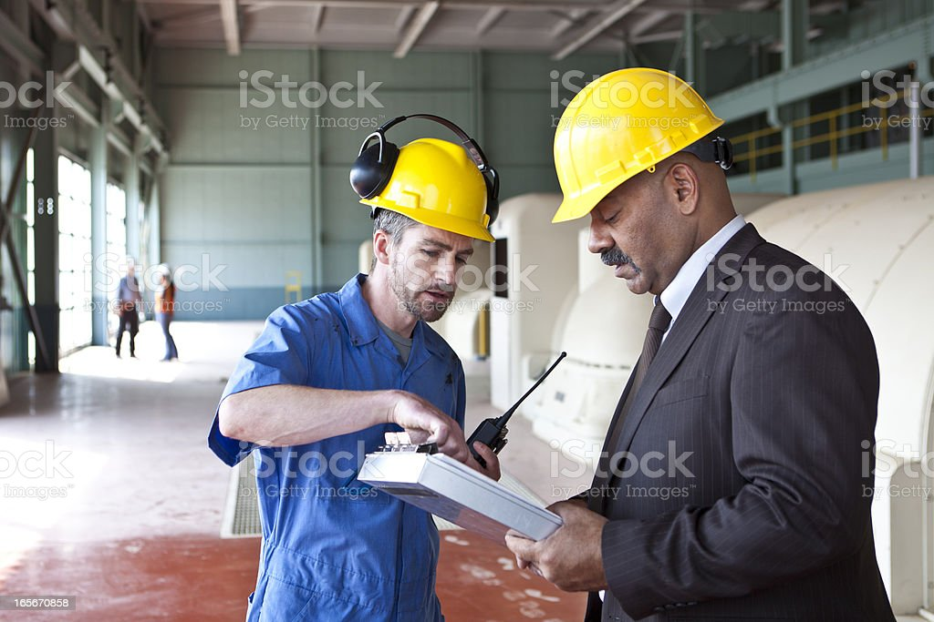 Energy industry royalty-free stock photo