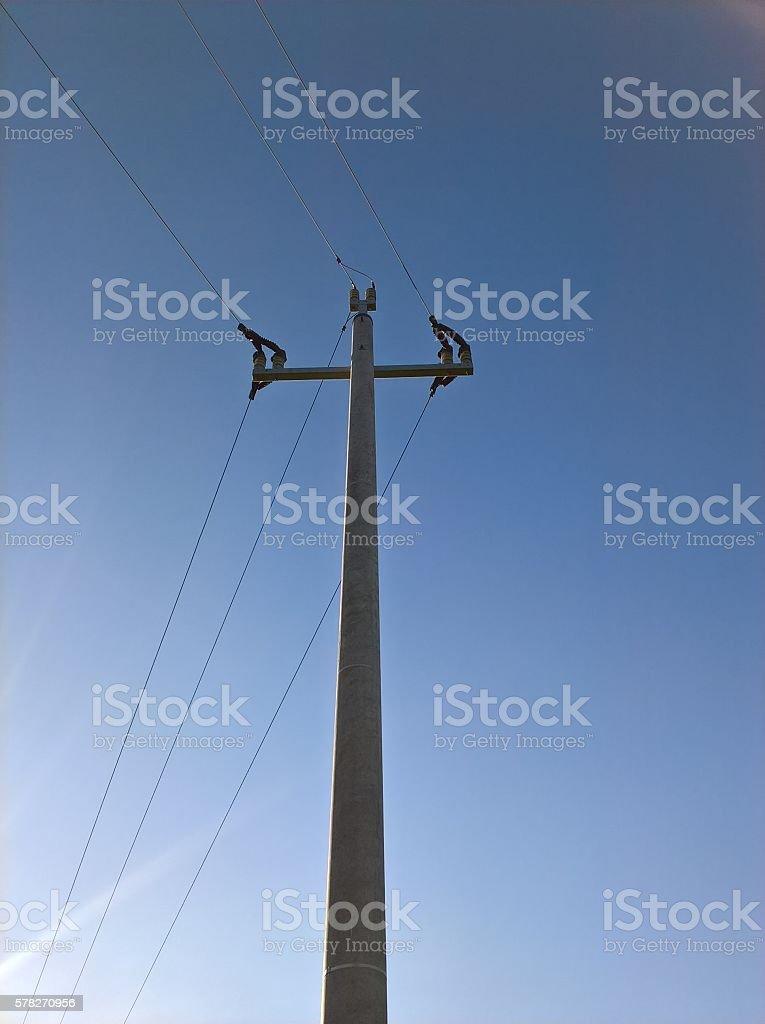 Energy Line Curve stock photo
