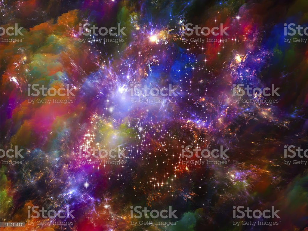 Energy of Space royalty-free stock photo