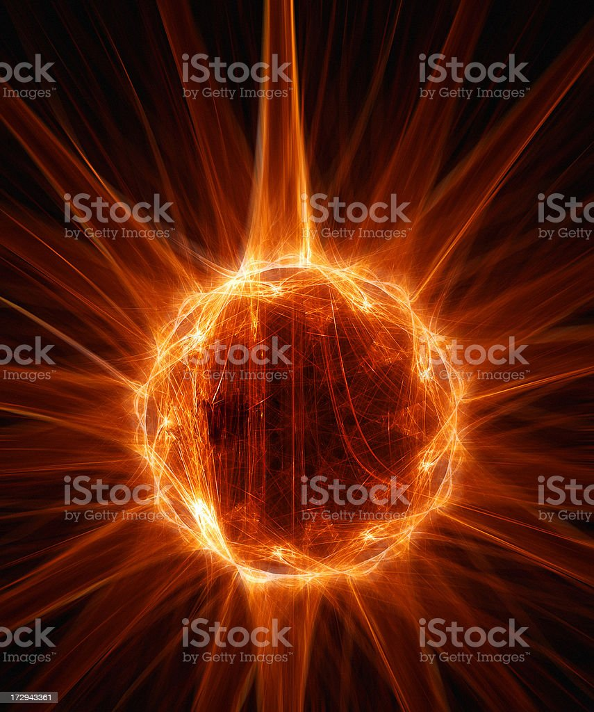 Energy pattern royalty-free stock photo
