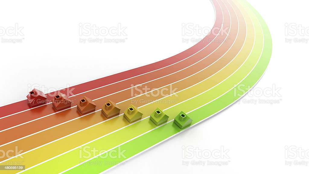 Energy Rate competition stock photo