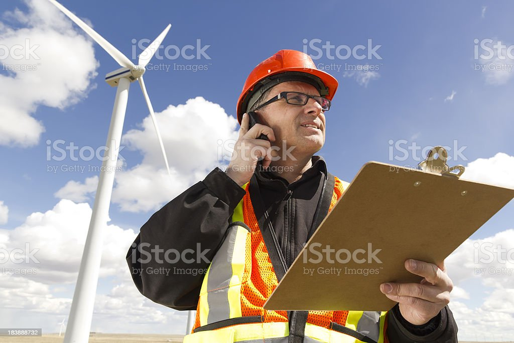 Energy Report royalty-free stock photo