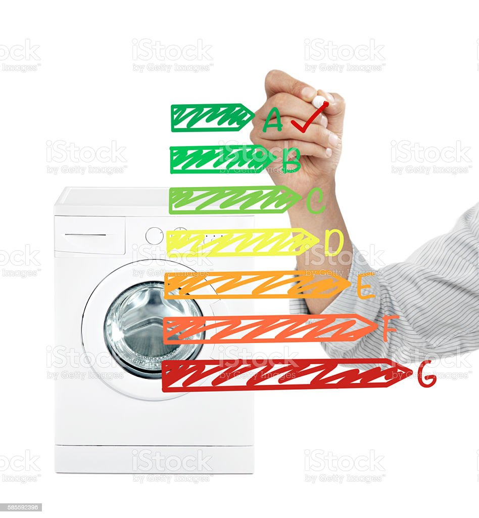 Energy saver appliance stock photo