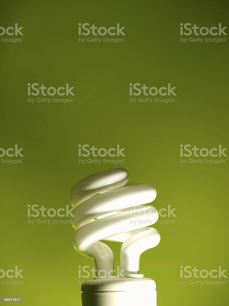 Energy Saver Bulb royalty-free stock photo