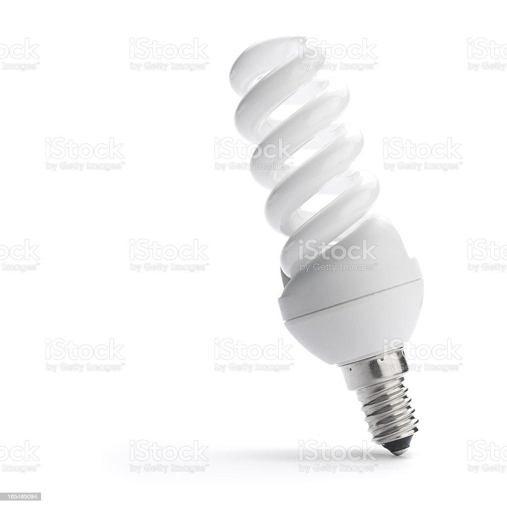 Energy Saving Bulb royalty-free stock photo