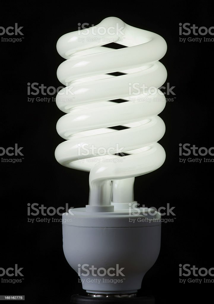 Energy saving lamp royalty-free stock photo