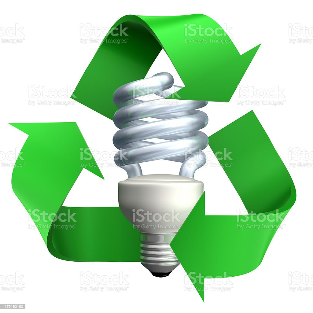 Energy efficient symbol Efficient light bulbs